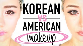 Download Korean Makeup vs American Makeup Before and After Transformation Tutorial Routine ♥ Wengie Video