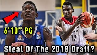 Download The 6 Foot 10 POINT GUARD Who Could Be The Biggest STEAL Of The 2018 Draft! Video