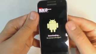 Download Samsung Galaxy S4 mini I9195 - How to put phone in download mode Video