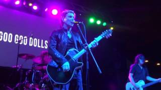Download Goo Goo Dolls - Over and Over acoustic (Chester, PA 10-22-2016) Video