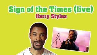 Download Sign of the Times (live)- Harry Styles (Reaction Fail) Video