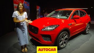 Download Jaguar E-Pace in-depth unboxing | BMW X1 and Audi Q3 rival revealed | Autocar Video