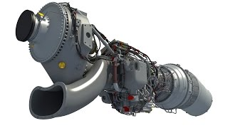 Download Europrop TP400 D6 Turboprop 3D Engine for Airbus A400M Video