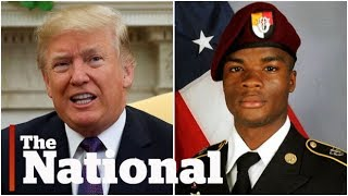 Download Donald Trump's comments on U.S. soldier killed in Niger spark controversy Video