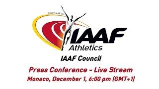 Download IAAF Council Press Conference - Live Stream Video