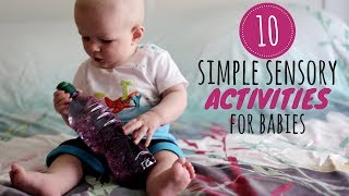 Download 10 Simple Sensory Activities for Babies | DIY Baby Entertainment Video