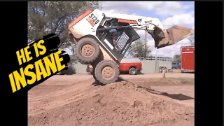 Download He is the most Insane, Skilled, Skid steer Operator in the World Video