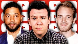 Download The Jussie Smollett Scandal's New Twists & Corruption Accusations, PewDiePie, & Article 13 Video