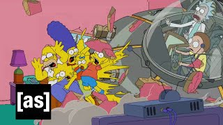 Download Simpsons Couch Gag | Rick and Morty | Adult Swim Video