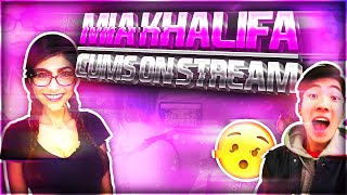 Download Mia Khalifa comes on stream!(RiceGum) Video