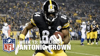 Download Antonio Brown, Entertain Us! (Week 13) | Colts vs. Steelers | NFL Video