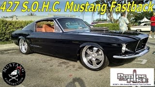 Download 1967 Mustang Fastback 427 SOHC powered Hot Rod Ponies at the Pike 2015 Mustang Connection Video