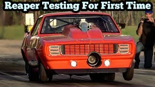 Download Reaper Testing the New Procharged Yenko Camaro Video