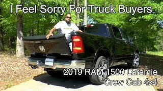 Download 2019 RAM 1500 Laramie Review - I Feel Sorry for Truck Buyers Video