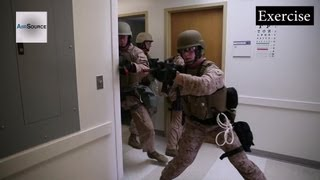 Download Marine Corps, Building Raid - Active Shooter Exercises at Hospital Video