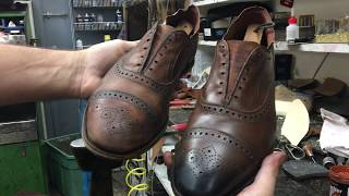 Download Allen Edmonds Shoe Restoration - Bedo's Leatherworks Video
