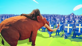 Download Can A MAMMOTH Defeat 5,000 PEASANTS?! (Totally Accurate Battle Simulator) Video
