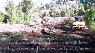 Download Clearing Raw Land With Bull Dozer For Our Homestead Video