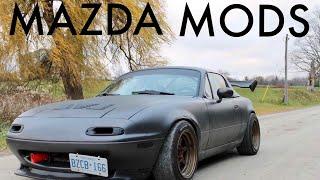 Download Mazda Miata Mods Beginning VS End Video