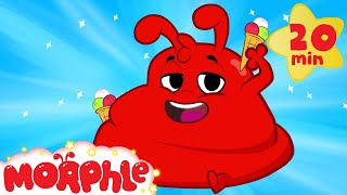 Download Morphle ate too much ice cream! Funny superhero animation for kids Video
