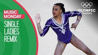 Download Rebecca Andrade Dazzles her Home Crowd to Beyoncé's Single Ladies at Rio 2016 | Music Monday Video