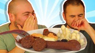 Download Kahvaltılıkları Kurutup Yedik - Yumurta, Peynir, Sucuk Nasıl Oldu? Video