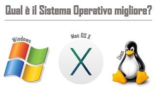 Download Qual è il migliore Sistema Operativo? Windows, Mac OS X o Linux? - Tech to School Basic Video