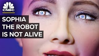 Download Humanoid Robot Sophia - Almost Human Or PR Stunt Video