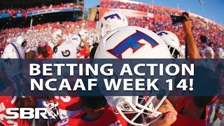 Download Sharp And Public Betting Report with BetDSI I College Football Week 14 Video