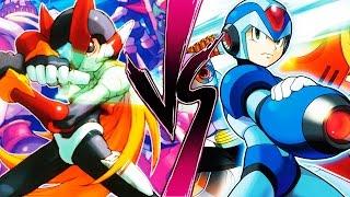 Download MEGAMAN - X vs Zero - ¿Quien ganaría? Video