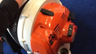 Download Stihl BR 450C-EF Review electric start Video