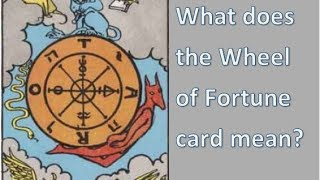 Download Tarot meanings - What does the Wheel of Fortune card mean? Video