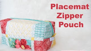 Download Create a zipper pouch from placemat Video