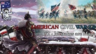HOI4 Kaiserreich - American Civil War 2 0 #1 - Events