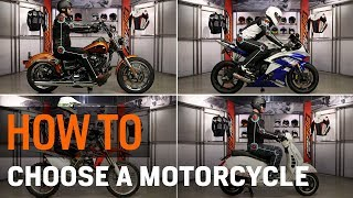Download Motorcycle Types for Beginners - How to Choose at RevZilla Video