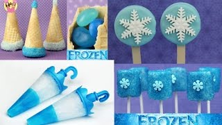 Download Best of DISNEY FROZEN - Princess Elsa & Anna - Popsicle - Oreo Cookie & Marshmallow Pop - party hat Video