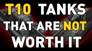 Download T10 tanks that are NOT worth it in World of Tanks Video