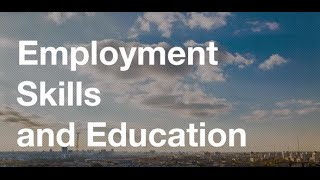 Download Employment, skills and education Video