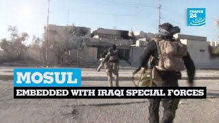 Download Exclusive: Embedded with Iraqi special forces in Mosul Video
