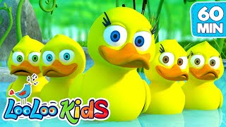 Download Five Little Ducks - Great Songs for Children | LooLoo Kids Video
