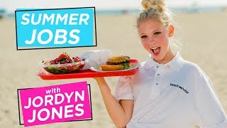 Download JORDYN JONES BEACH BURGER CHALLENGE | Summer Jobs w/ Jordyn Jones Video