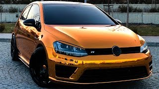 Download GOLF R Bronze Gold Krom Kaplama - GMG GARAGE Video