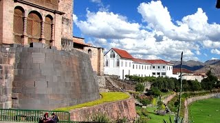 Download Churches Built On Top Of Inca Temples In Cusco Peru Video