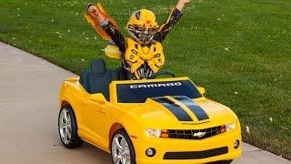 Download Bumblebee Unboxing (Transformers) - Kid Motorz Yellow Camaro! Video