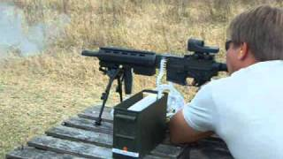 Download 22LR Full Auto Belt-fed! 1000Rnds,Machine Gun, LM7, Colt M16A1 Video