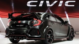 Download 2017 Honda Civic Hatchback and Type R Presentation at Paris Motor Show 2016 Video