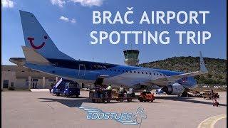 Download Brač Airport LDSB/BWK Spotting Trip - Croatia HD Video
