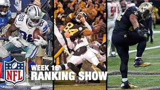 Download Top 10 Plays, Top 3 Celebrations & Top 5 Finishes! | Week 16 Ranking Show | NFL NOW Video
