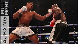 Download Full Fight | Anthony Joshua Vs Carlos Takam TKO Video