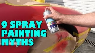Download Spray Painting Myths & Misconceptions Video